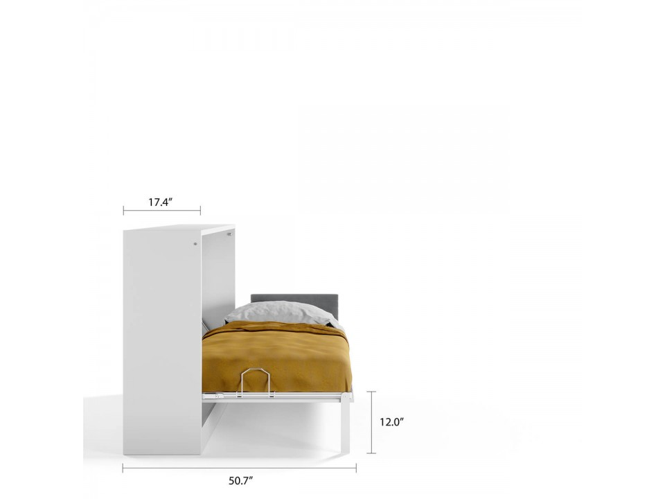 Spazio - Twin Size Wall Bed