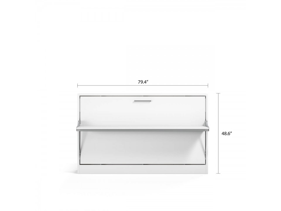 Spazio - Twin Size Wall Bed with Desk