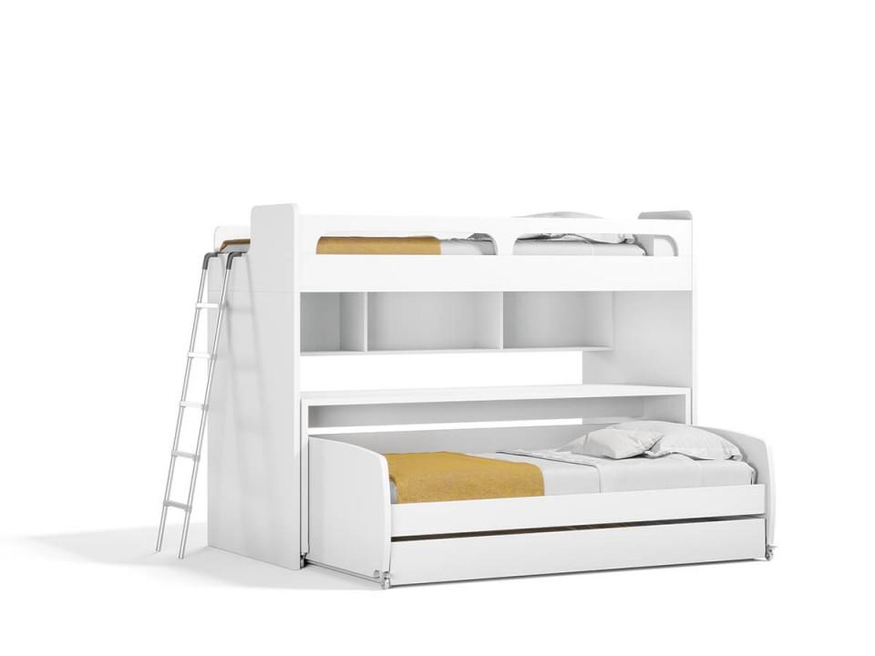 Bel Mondo Twin Over Twin/Twin XL Bunk Bed Set