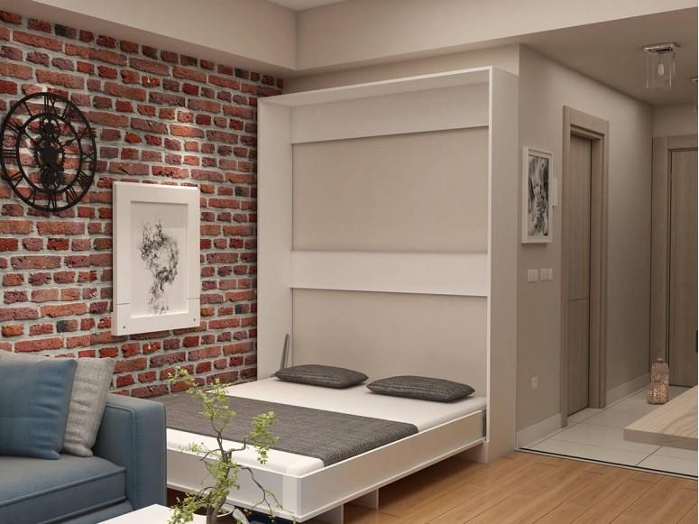 Eco Platform Queen Murphy Bed