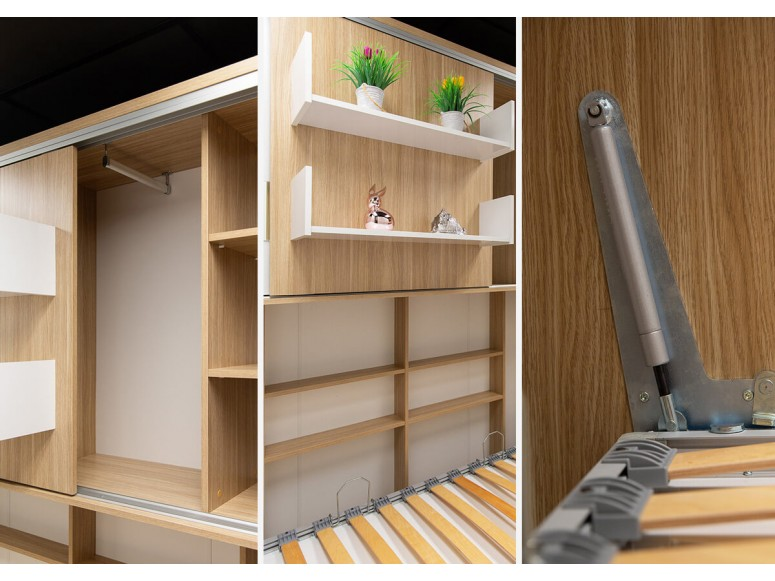 Parete Letto - Twin Wall Bed System